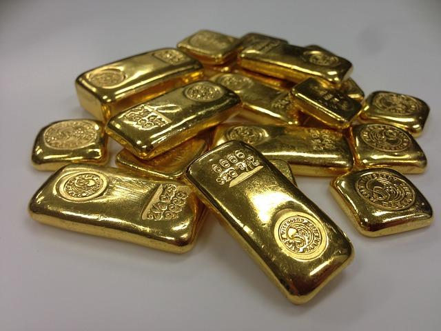 Podras saber cuanto pesa un lingote de oro