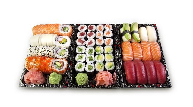 cuantos tipos de sushi hay