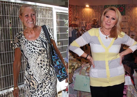 el antes y despues de rosa benito en supervivientes