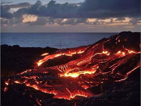 los tipos de volcanes