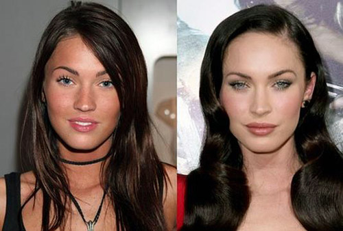 megan fox antes y despues