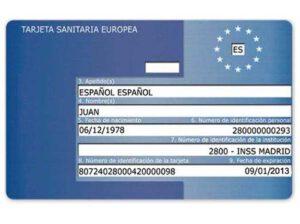 tarjeta sanitaria europea cuestiones