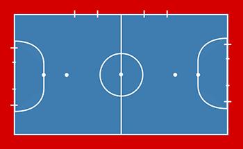 cuanto mide un campo de futbol sala medidas