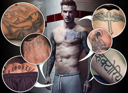 tatuajes de david beckham