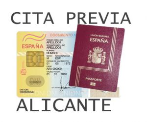 cita previa dni y pasaporte alicante