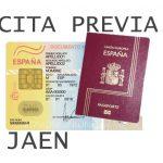 cita previa dni y pasaporte en Jaen