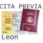 leon cita previa dni y pasaporte