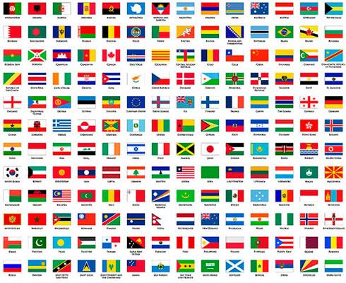 Cuantos paises existen en el mundo for Cuantos codones existen