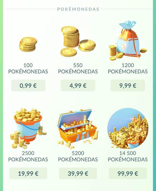 donde se pueden conseguir pokemonedas