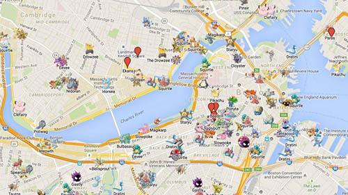 donde encontrar pokemon facil con una app