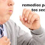 algunos remedios para aliviar la tos seca