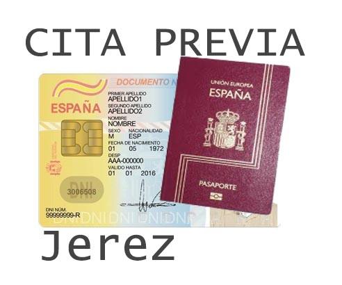 jerez de la frontera cita previa dni y pasaporte