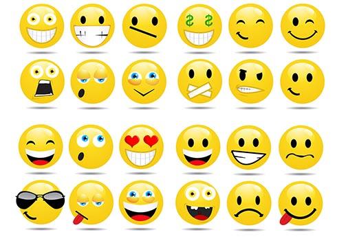 como podemos poner los emoticones en el face
