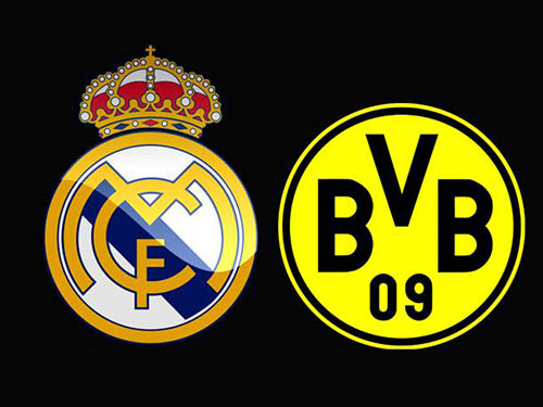 borussia vs real madrid champions league