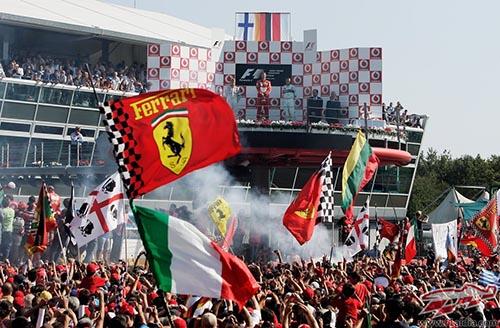 Gp italia f1 donde ver