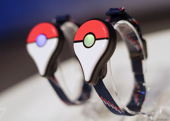 pulsera pokemon go plus