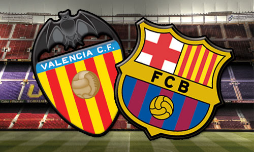 valencia vs barcelona tv