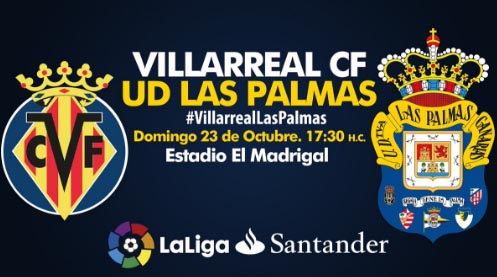 horario tv villarreal vs las palmas