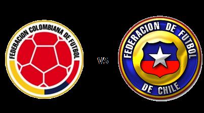 colombia vs chile en television en vivo
