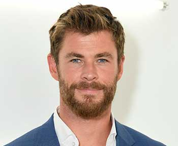 altura y edad de Chris Hemsworth