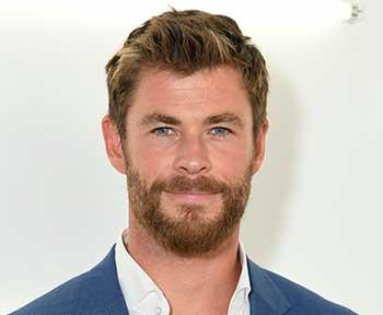 altura y edad de Chris Hemsworth